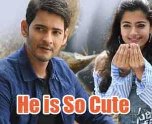He Is So Cute Lyrics in Telugu – Sarileru Nikevvaru